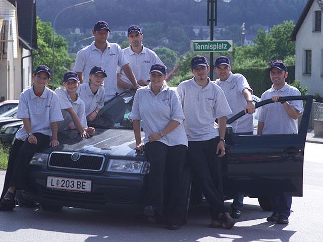 Büro- und Vertriebsteam 2001