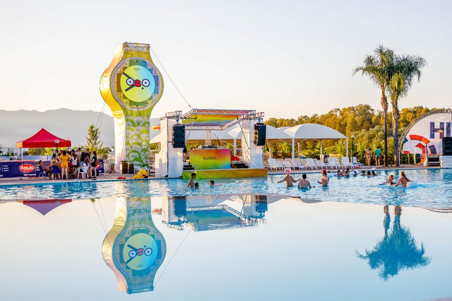 Swatch Poolstage